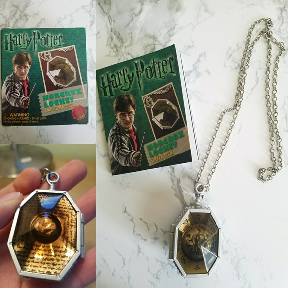 Harry Potter Locket Horcrux Kit and Sticker Book